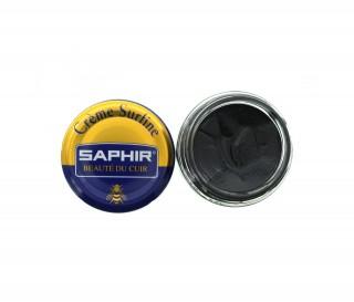 Saphir - pommadier creme surfine - 50ml - noir