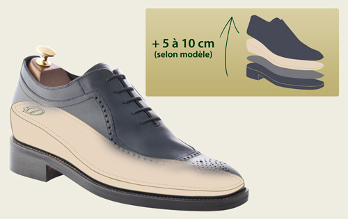 chaussure homme petite taille