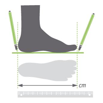 lunghezza piede