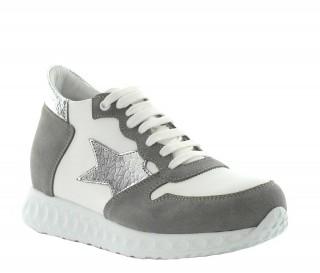 Sneaker rialzante Giulia - beige +7cm