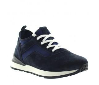 Sneakers Ortoverto Blu Marino +6,5cm