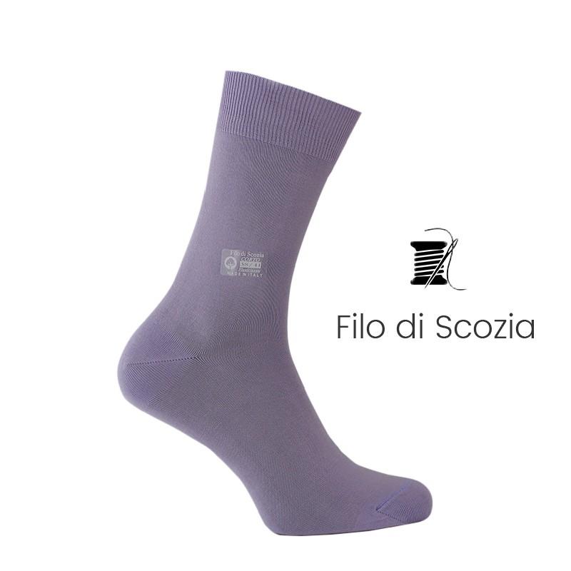 Chaussettes - calze filo di Scozia Uomo - Mario Bertulli specialista della scarpa rialzante