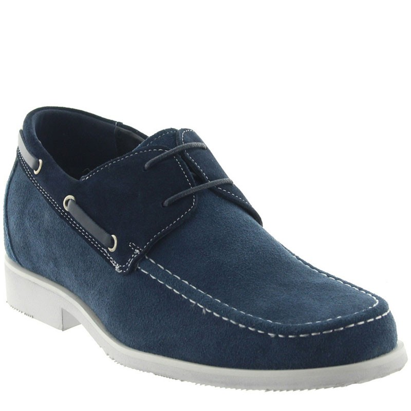Scarpe Bardolino blu +6cm