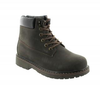 Boots frabosa marrone +7cm