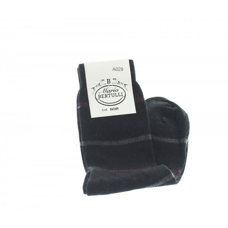 Chaussettes rayees  - calze cachemire Uomo - Mario Bertulli specialista della scarpa rialzante