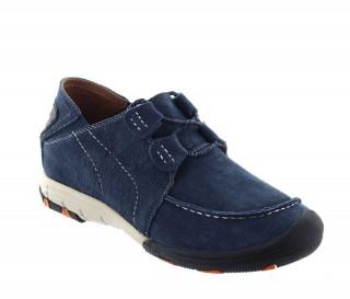 Włoskie buty podwyższające Mężczyzna  - Niebieski - Nubuk - +5 CM - Courmayeur  - Mario Bertulli
