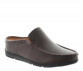 Sandały podwyższające Mężczyzna - Brązowy - Skóra - +5,5 CM - Malpensa - Mario Bertulli