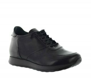 Vellano Sneakersy Podwyższające Czarne +7 cm