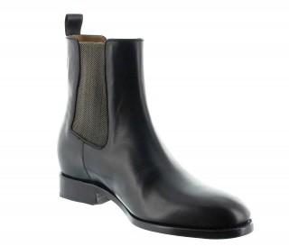 Foggia Goodyear Buty Podwyższające Czarne +6cm
