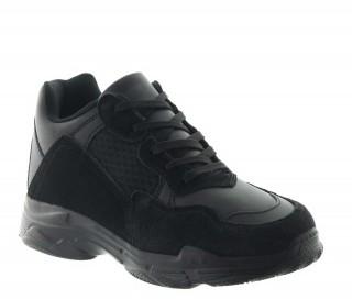 Buty Siria czarne +7cm