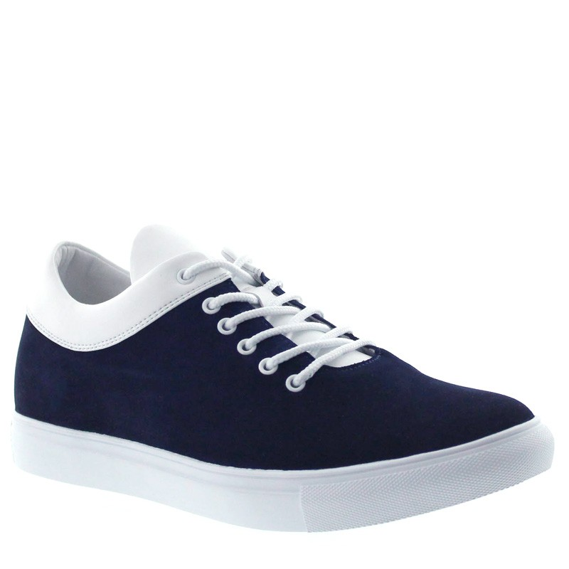 Dolcedo Sportowy Ciemnoniebieski/Biały +6cm