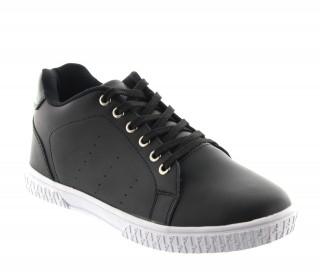 Włoskie buty podwyższające Mężczyzna - Czarny - Skóra - +5 CM - Andora - Mario Bertulli
