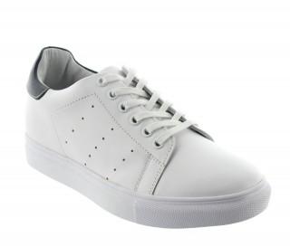 Buty portovenere biało-niebieskie +5cm