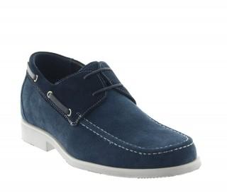 Buty bardolino niebieskie +6cm