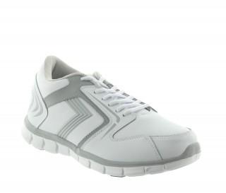 Buty Biella białe +5.5cm