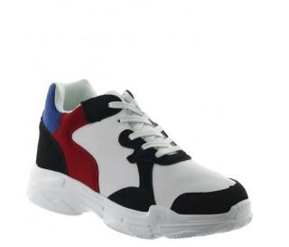 Pienza sportshoes white +7cm