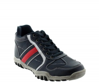 Sport shoes blue crotone +6cm