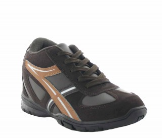 Piceno Height Increasing Sports Shoes Brown +7 cm