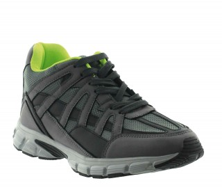 Elevator sport shoes for men Drena grey +7cm