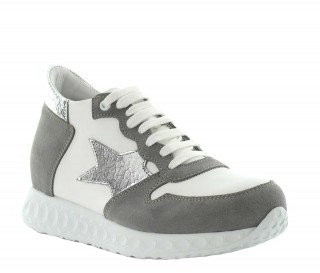 Giulia height increasing sneaker beige +7cm