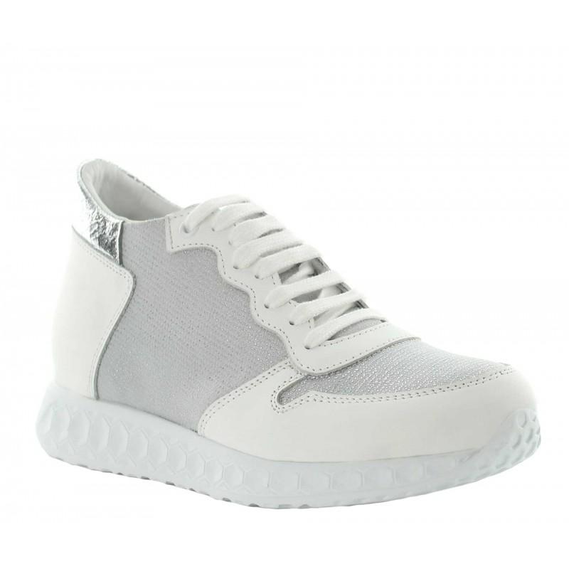Milla height increasing sneaker white +7cm