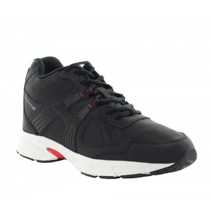 Elevator Sports Shoes Men - Black - Leather - +3.0'' / +7,5 CM - Carisolo - Mario Bertulli