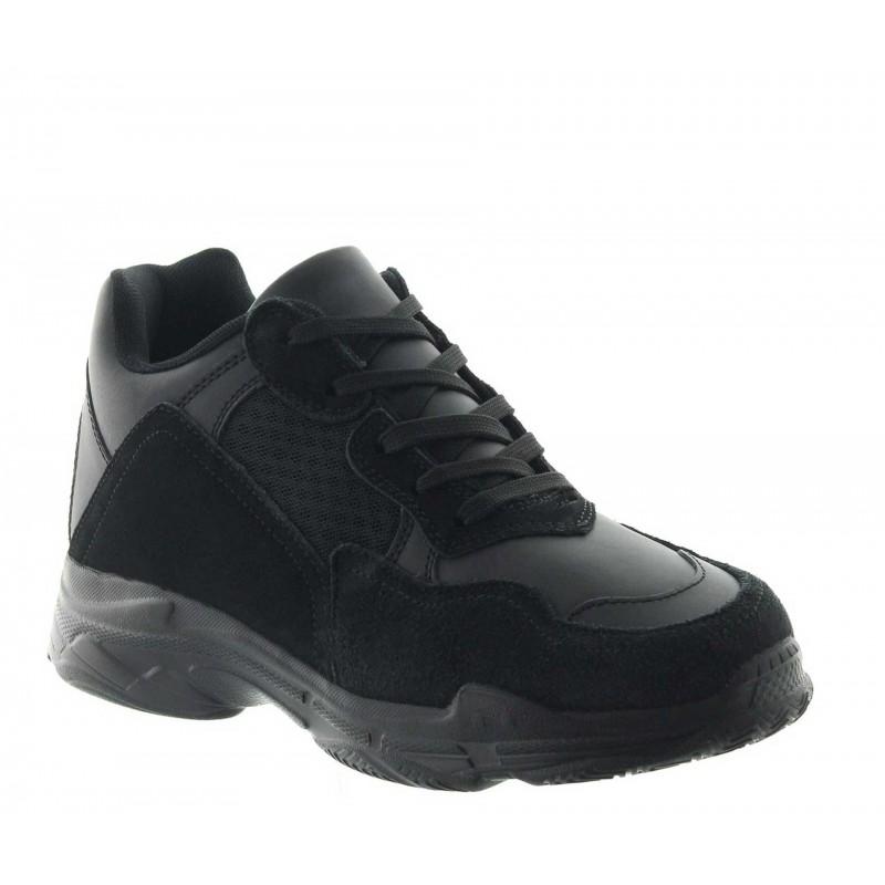 Siria sportshoes black +7cm