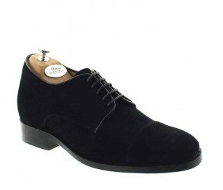 Valentino Goodyear Height Increasing Shoes Black +2.4''