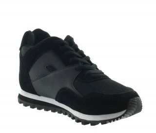 Pelago Height Increasing Sports Shoes Balck +7cm