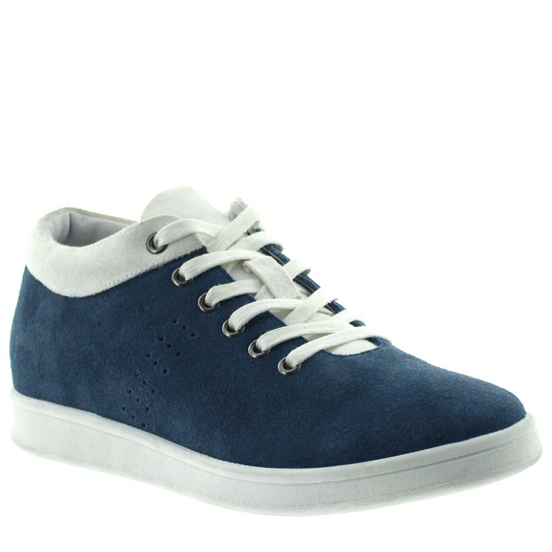 Apricale Height Increasing Sneakers navy blue/white  +6cm