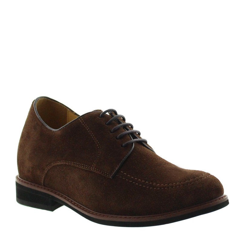 Bardineto Height Increasing Shoes Brown +7cm
