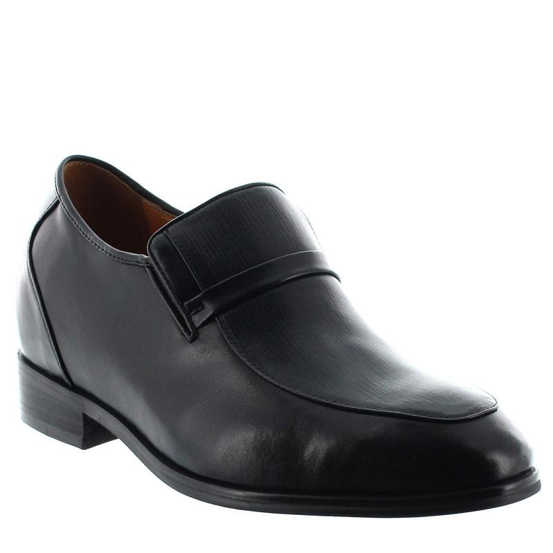 Elevator Loafers Men - Black - Leather - +3.2'' / +8 CM - Cagli - Mario Bertulli