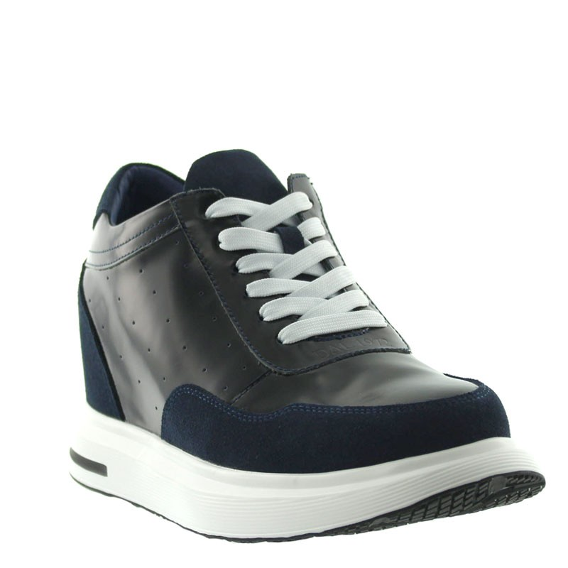 Altare Height Increasing Sneakers Navy blue +9cm