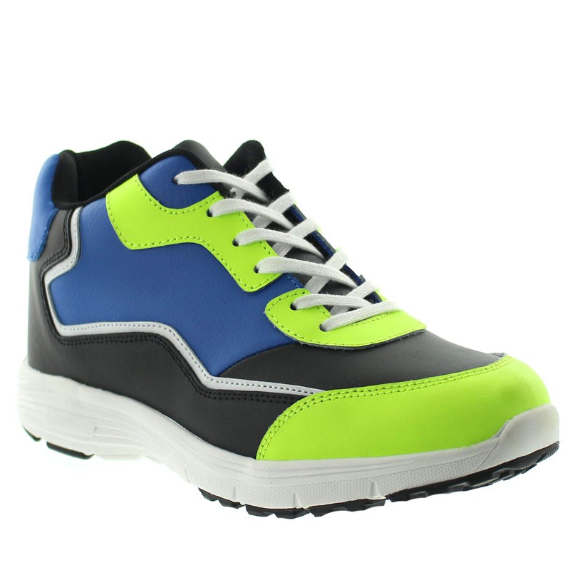 Height Increasing Sport shoes Levanto Blue/green +7cm
