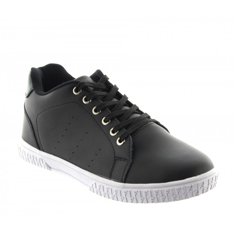 Elevator Sports Shoes Men - Black - Leather - +2.0'' / +5 CM - Andora - Mario Bertulli