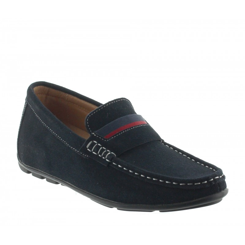 LOAFER SARDEGNA BLUE +5CM