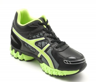 TRIORA SPORT SHOES BLACK/GREEN +6CM