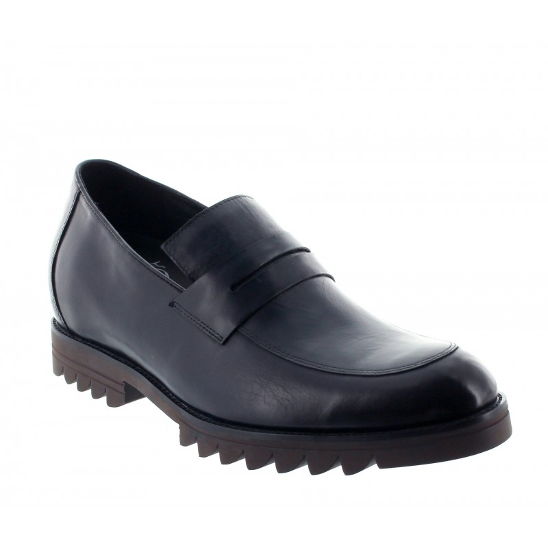 LOAFER BLACK +6.5CM MIASINO