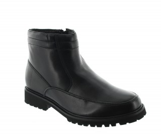 Elevator Boots Men - Black - Leather - +2.8'' / +7 CM - Sutera - Mario Bertulli