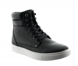 CESENA BOOTS BLACK +5.5CM
