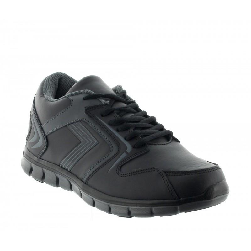 Elevator Sports Shoes Men - Black - Leather - +2.2'' / +5,5 CM - Biella - Mario Bertulli