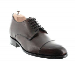 ALESSANDRO GOODYEAR DARK BROWN +6CM