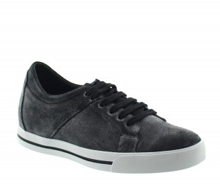 MONDOLFO SPORT SHOES BLACK +6CM