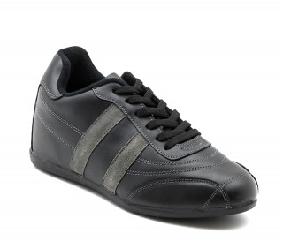 SORRENTO SPORT SHOES  BLACK +5CM
