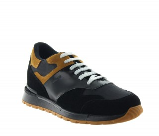SPORT SHOES ACQUARO BLACK +6.5CM