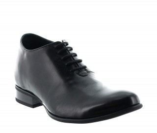 Elevator Oxfords Shoes Men - Black - Leather - +2.8'' / +7 CM - Umbria - Mario Bertulli