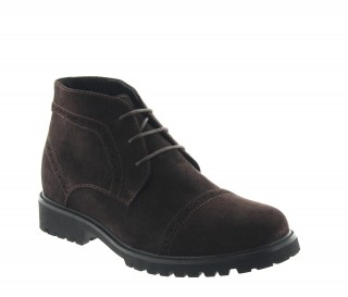 Savino height increasing boots brown +7cm