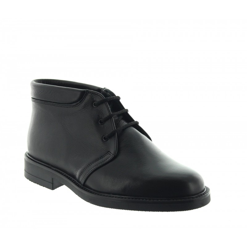 Elevator Boots Men - Black - Leather - +3.2'' / +8 CM - Pratolino - Mario Bertulli